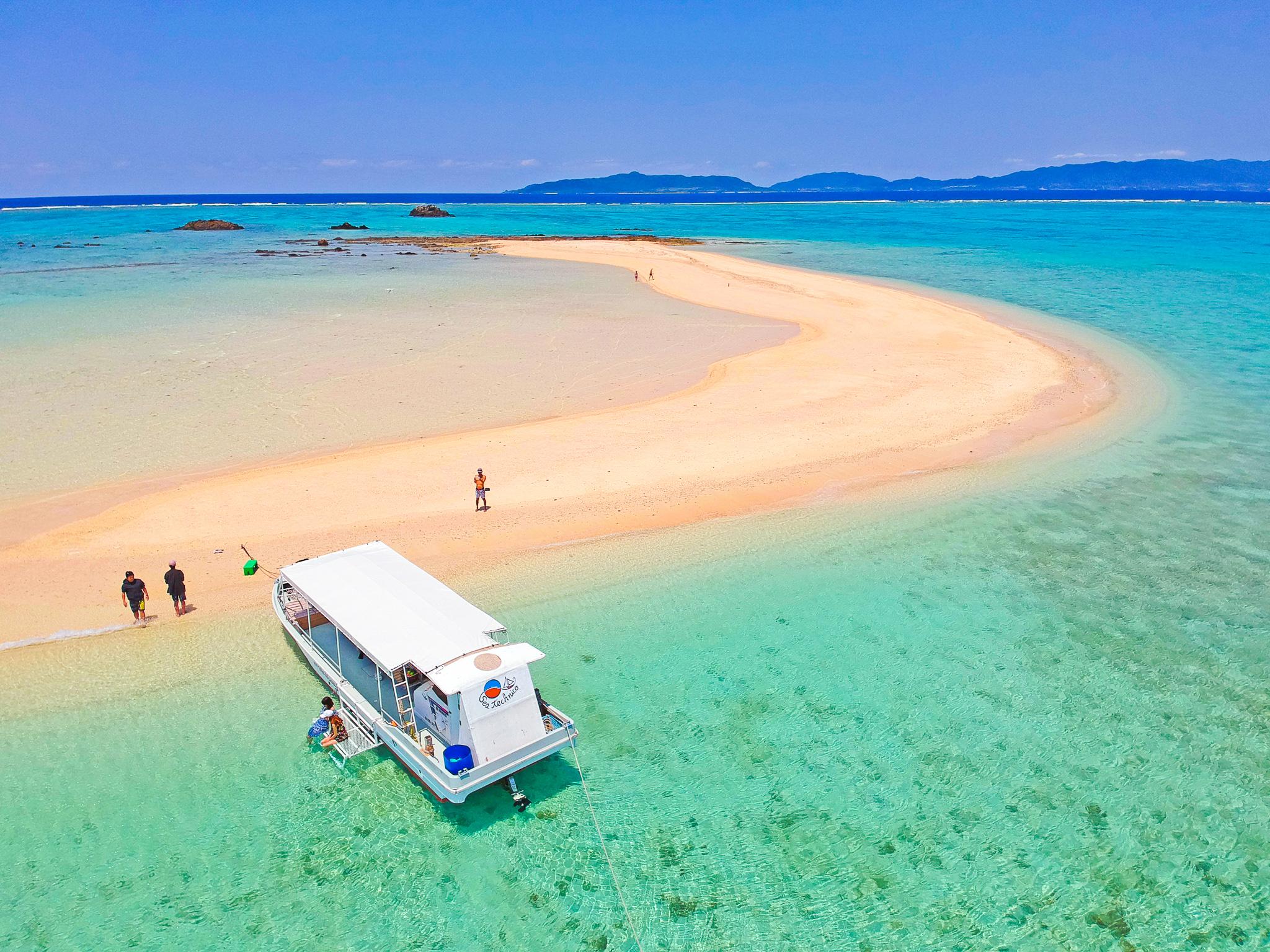 新婚旅行で幻の島へ行くツアー