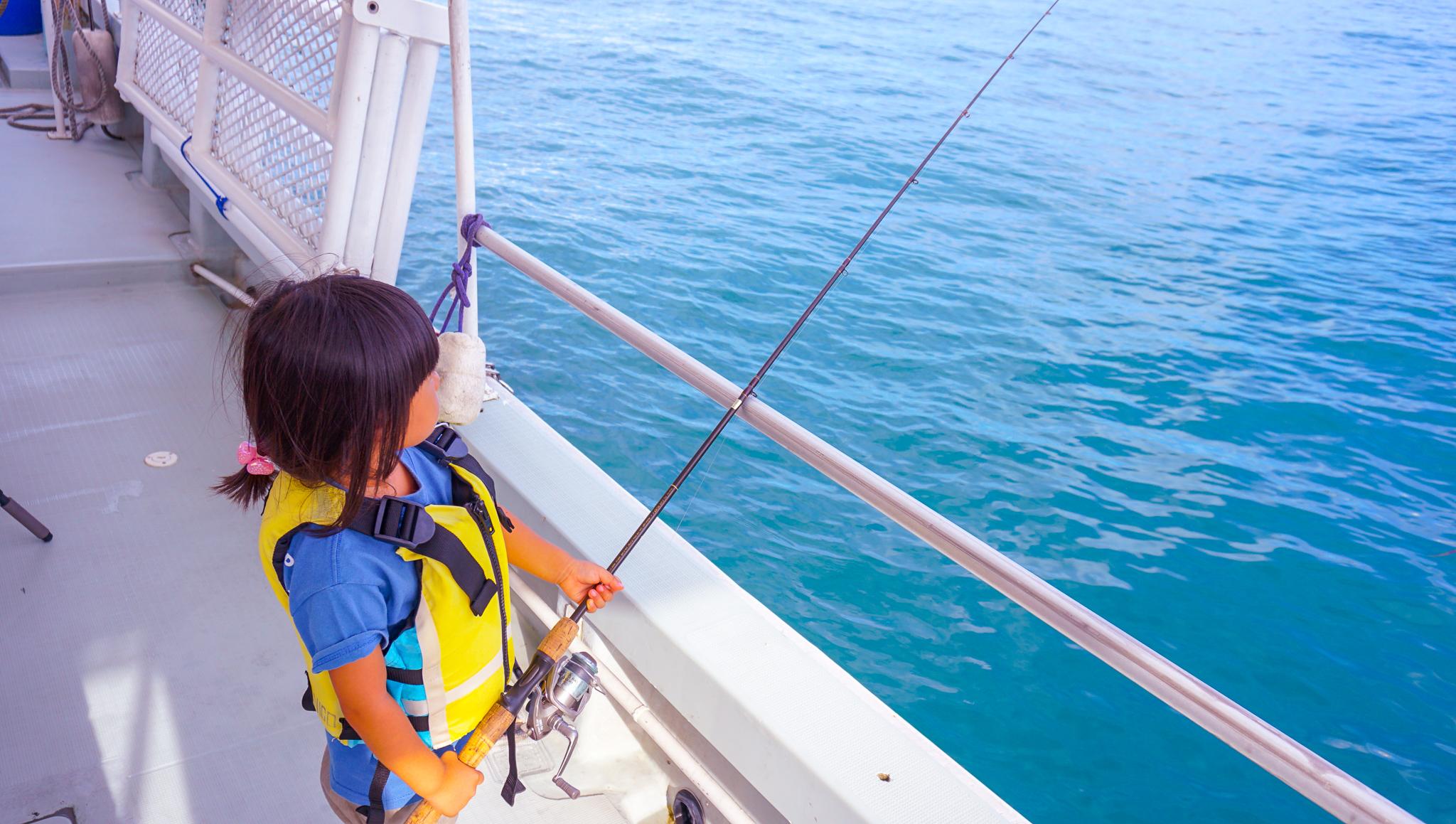 小さなお子様でも釣れる釣りツアー