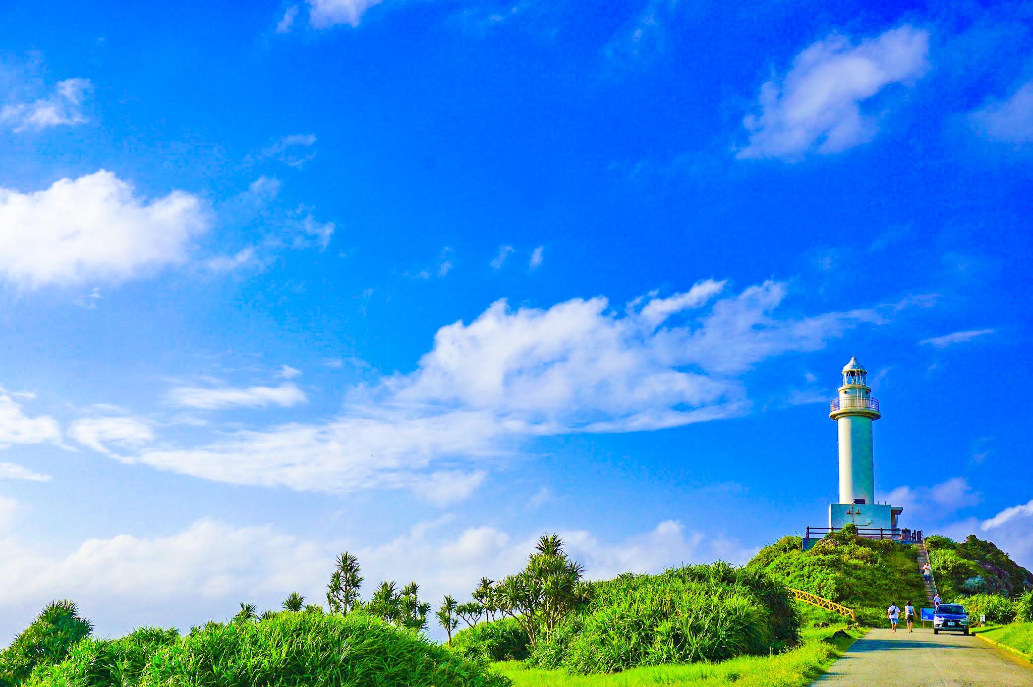 小浜島の灯台