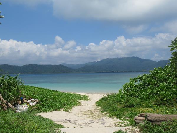 小浜島の細崎海岸