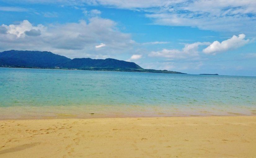 細崎海岸のきれいな海