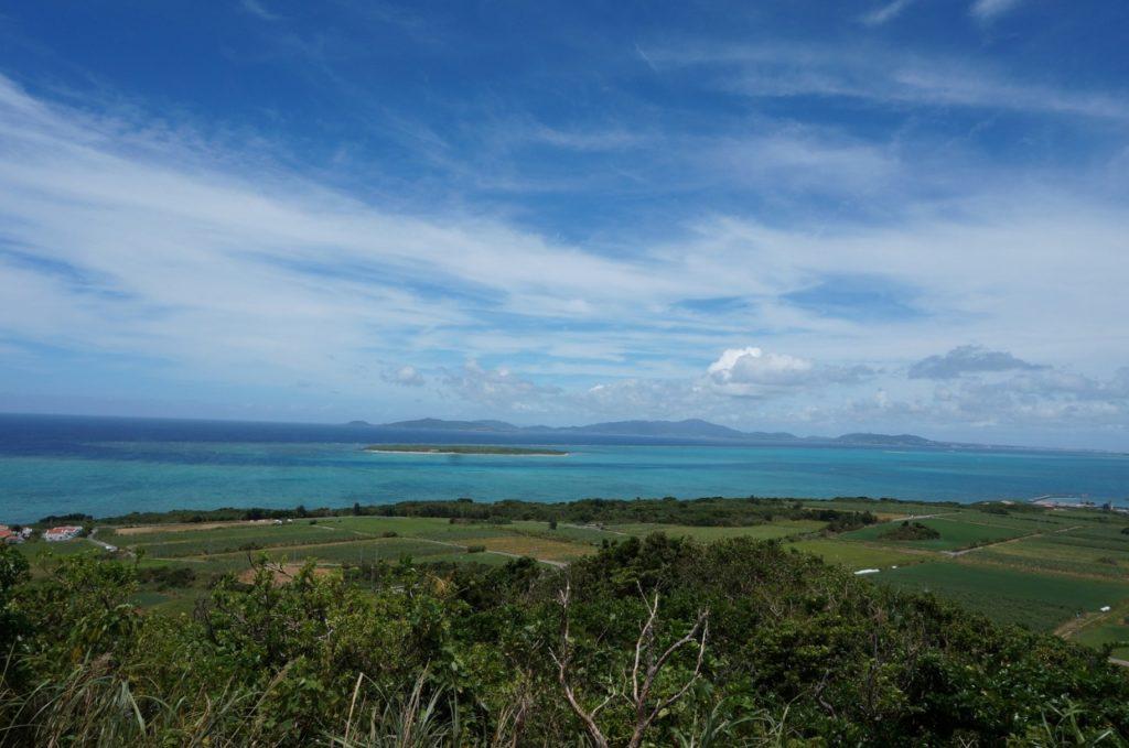 小浜島の大岳から見る絶景