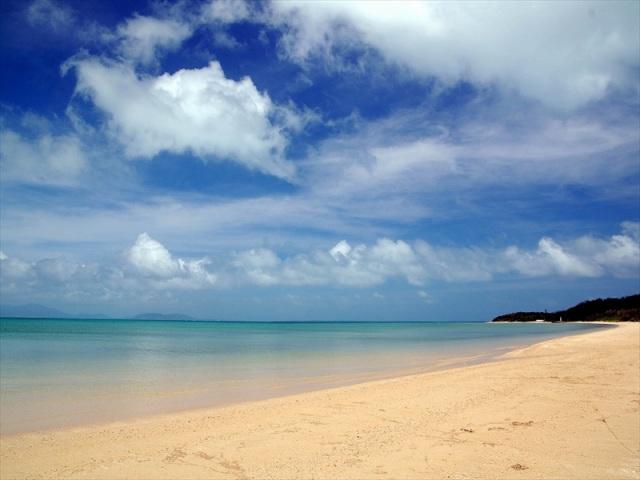 7月のトゥマールビーチ