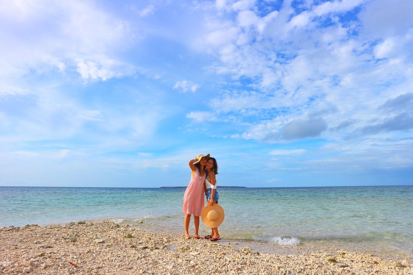 女子旅でバラス島へ上陸