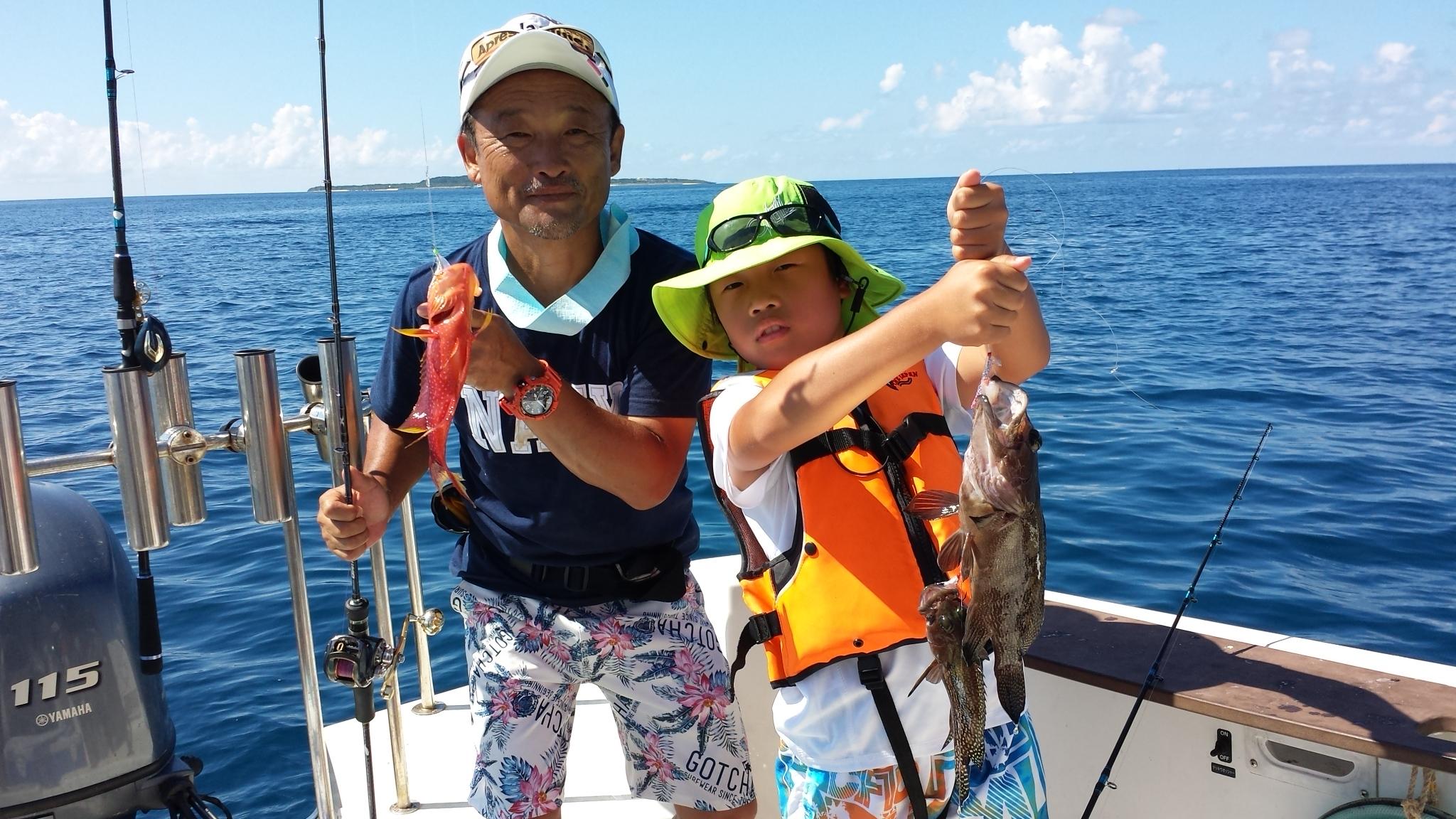 親子で釣りツアー