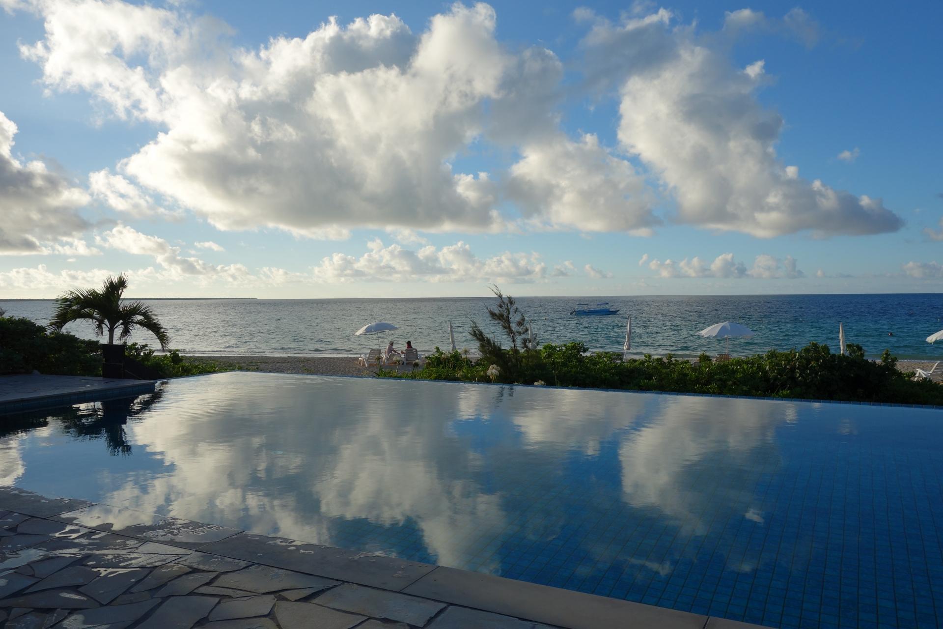小浜島ホテルのプール