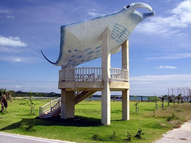 小浜島の人気スポット海人公園